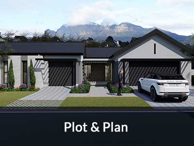 Bergstreme Developments plot and plan in Paarl